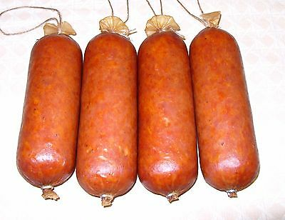 Fibrous casings for sausage 1 1/2 x 12 clear 25 casings for 25lb sausage
