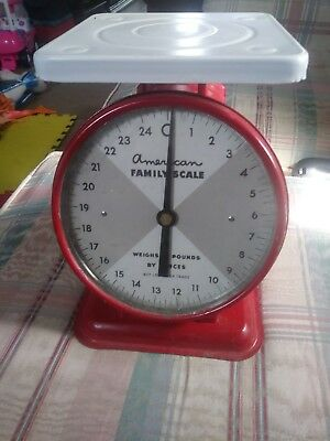 american family scale vintage