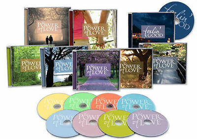 "Various Artists ""The Power Of Love"" 9 CD Box Set Time Life"