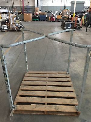 Tier Rack Pallet Stacking Frames- Lot of 2 Sections