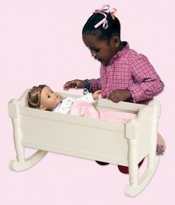 Guidecraft Doll Cradle- White. Brand New