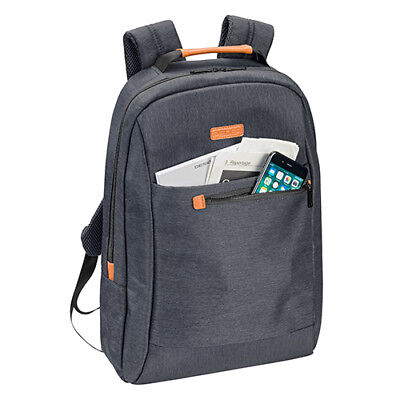 Eleganter Rucksack Backpack mit Tablet / Notebook Laptop Fach bis 17,3 Zoll