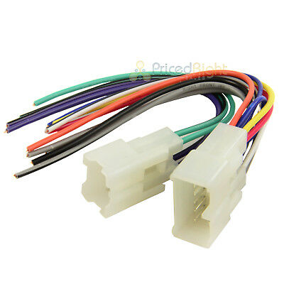 TOY-1950 Car Wire Harness 1987 Up Toyota Wiring Radio Installation TA02B Scion