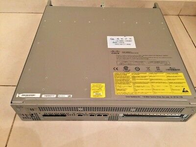 Cisco ASR1002-F Router Fixed ESP 4 built-in GE, With no Dual ASR1002-PWR-AC