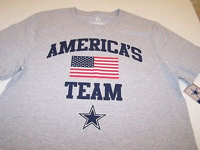 268084587 Dallas Cowboys Americas Team T Shirt Mens Large New with Tags FREE SHIPPING