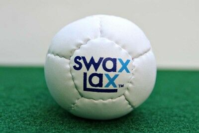 (12-Pack, White) - Swax Lax (12-Pack) Soft Weighted Lacrosse Training Balls