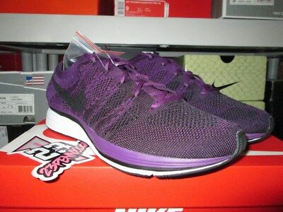 187b2eb88420a Nike Flyknit Trainer Qs Night Purple Black Ah8396 500 Sz 8-13 New Racer  Olympic
