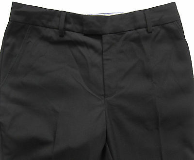 New Marks & Spencer Boys Black School Trousers Age 13-14 Years x 1