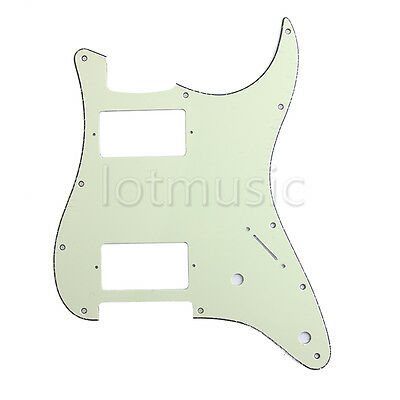 HH Pickguard 3 Ply Mini Green For Fender Strat Stratocaster Electric Guitar