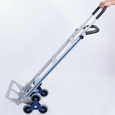 550lb Hand Truck 6 Wheel Stair Climber Moving Dolly Cart Industrial Appliance US