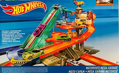 Hot Wheels Motorisiertes Mega Autocenter Garage BGJ18