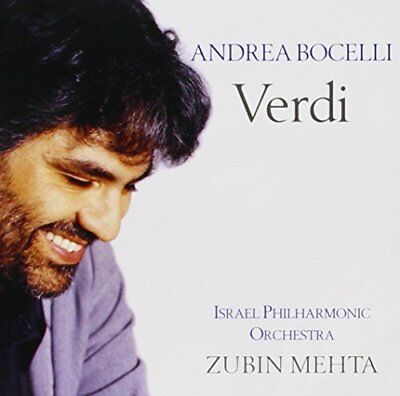 ANDREA BOCELLI - Verdi - CD - **BRAND NEW/STILL SEALED**