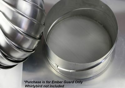 Bushfire Ember Guard - for 250mm whirlybird roof vent - Whirlybird not included