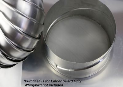 Bushfire Ember Guard - for 350mm whirlybird roof vent - Whirlybird not included