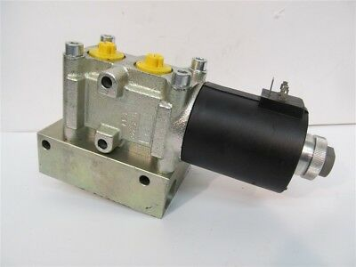 Roquet 6VAS1012LPSD007, 6-Way, 12 VDC, Hydraulic Changeover Valve & Block