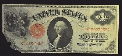 Series 1917 $1 United States Note Item N-27