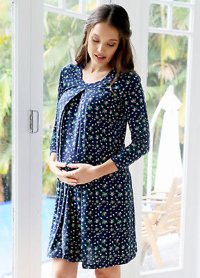 Floressa - Jessamina Pregnancy Hospital Nursing Gown