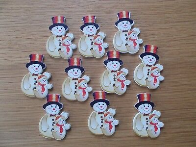 Home Décor Items Snowman Winter Kids Joke Fun Gift #12425 Marshmallow Men Classic Fridge Magnet Fridge Magnets