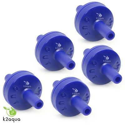 Aquarium Fish Tank Check Non Return Valve for Air Pump - Multiple QTYs