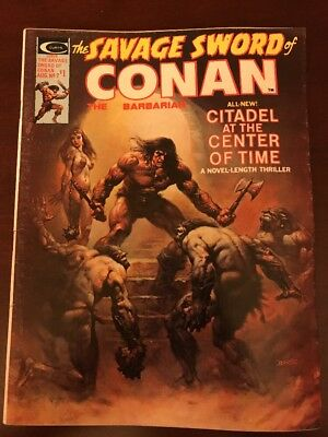 Savage Sword of Conan The Barbarian #7 Marvel Comics Curtis 1975 Very Fine
