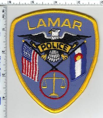Lamar Police (Colorado) Shoulder Patch from the 1980s