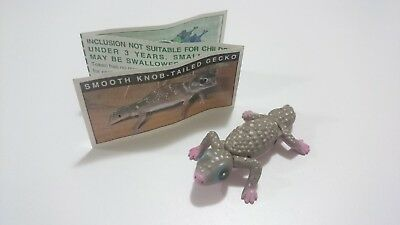 "Cadbury Yowies AU Series 1 ""Pink Belly"" Gecko Variation + Papers"