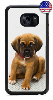 Cute Puppy Dog Red Collar Friend Rubber Case Cover Samsung Galaxy Note 10 + 9 8