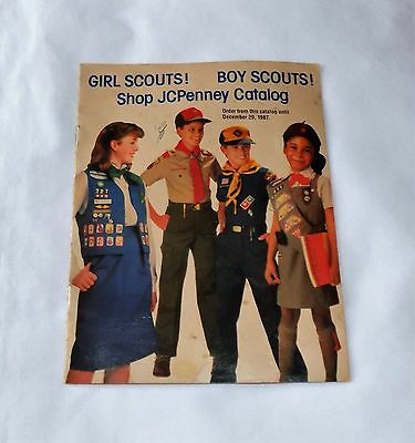 Girl Scouts Boy Scouts 1987 Jcpenny 16 Page Catalog