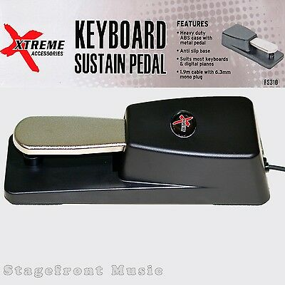 Sustain Pedal Polarity Switch Suits All Keyboards & Digital Pianos