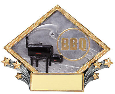 BBQ Grill/Smoker Award Plaque Personalized Free