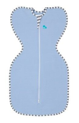 Love to Dream Original Swaddle Up - 3 SIZES - BLUE - ZIP UP BABY SWADDLE - NEW