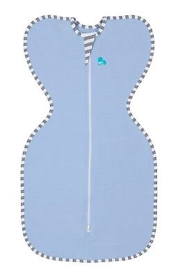 Love to Dream Original Swaddle Up - 4 SIZES - BLUE -1TOG - ZIP UP BABY SWADDLE