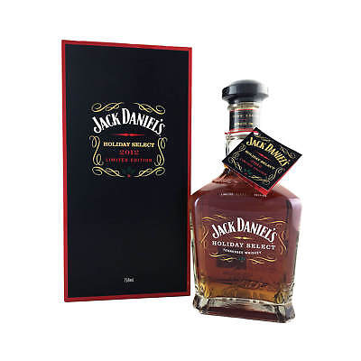 Jack Daniel's Holiday Select 2012 USA Release 750ml 90.4 Proof (45.2%) SIGNED!!!