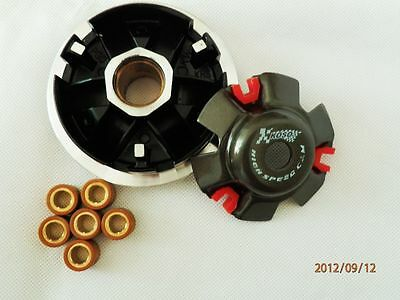 Performance Clutch Variator w/12G Roller Weights GY6 125 150cc Scooter Moped