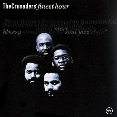 CRUSADERS - Crusaders Finest Hour - CD - Best Of - **Excellent Condition**