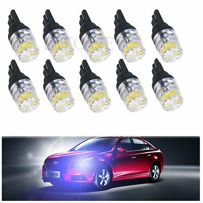 T10 194 168 W5W 5 SMD LED Tail Light Car Vehicle Side Bulb Lamp Bright White