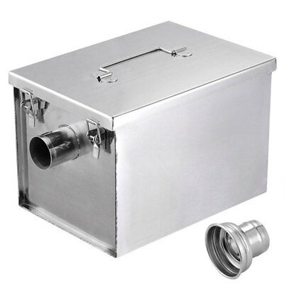 Grease Trap Interceptor 8 lb 5GPM Converter Stainless Steel 27607