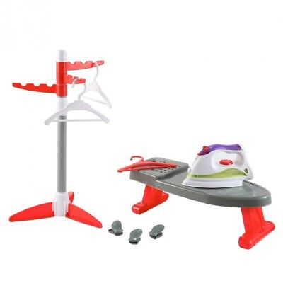 Little Helper Ironing Playset Toy with Iron, Board, Clothes Dryer, and Hangers