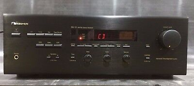Nakamichi Re 10 Stereo Am Fm Amplifier Receiver 100 Watt 8 Ohms Vintage