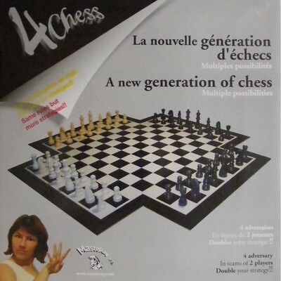 4Chess: Four-Handed Chess Set for 4 Players. Masteray. Brand New