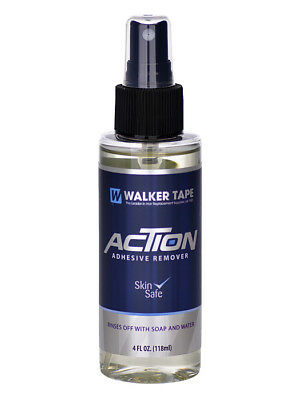 Walker Tape Action Hair Tape & Glue Adhesive Remover - Wig, Toupee, Hairpiece