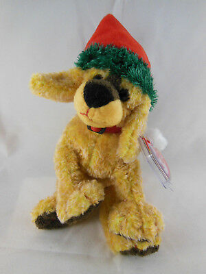 TY Beanie Baby Jingle Pup The Christmas Dog 2001 Mint with mint tag