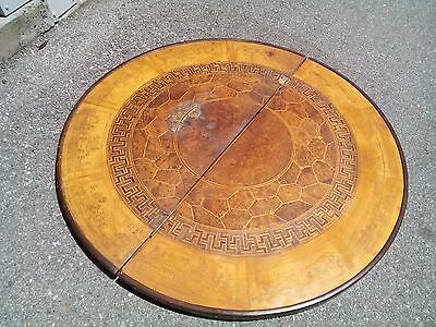 Beautiful Antique Chinese Hand Engraving Inlaying Table Top Very Rare