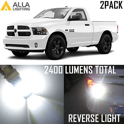 7440 LED Reverse Back Up Light for Ram 1500 2500 3500 W//Projector 13-16 2400LM