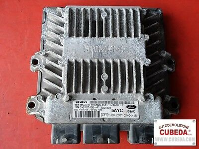 Centralina motore FORD FIESTA  1.4 TDCI - 3S6112A650LC / 5WS40140E-T -5AYC