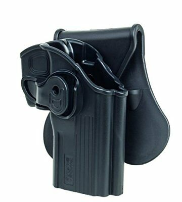 (TG. Large) nero Swiss Arms Cintura Holster in Polimeri