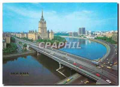 CPA Moscow Kallnin Bridge and Ukraine Hôtel