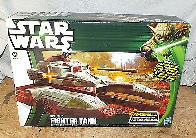 STAR WARS Clone Wars  REPUBLIC FIGHTER TANK NEU OVP  Hasbro Trooper Klonkriege