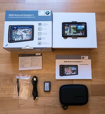 Genuine BMW Navigator V GPS With Carry Pouch USB Cable Set R 1200 GS 77528536777