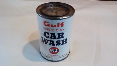 Vintage Gulf Oil Co. Super Duty Car Was Tin Can (Full)